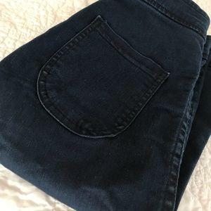 American Apparel Easy Jean Size S Dark Blue